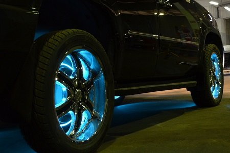 Led подсветка дисков автомобиля своими руками