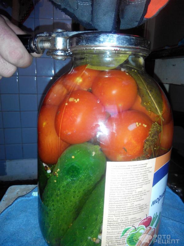 Огурцы в томате – кулинарный рецепт