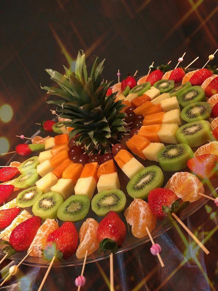 Как сделать красивую фруктовую нарезку своими руками