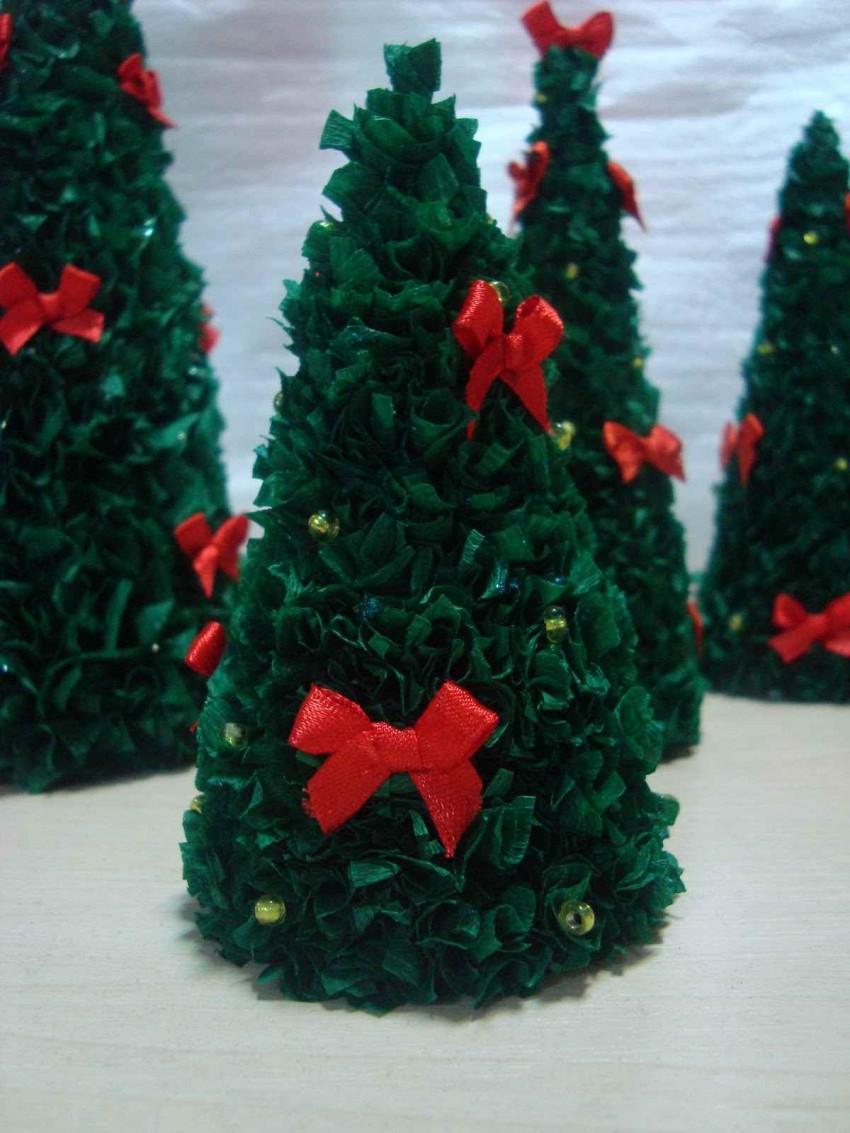 Гофрированная елка своими руками, мастер-класс