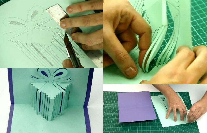 Как сделать 3д открытку своими руками: на день рождения, мастер-класс объёмной открытки на день влюблённых, шаблоны и рекомендации