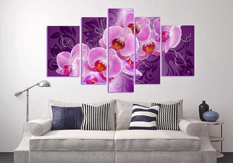 Картины на стену из нескольких частей: как они называются и как подбирать для спальни, в гостиную и зал