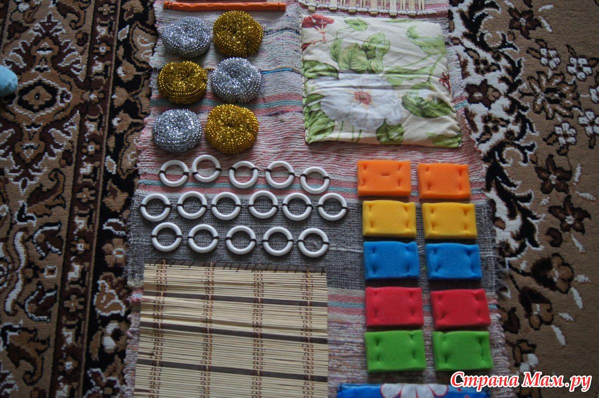 Массажный коврик для детей своими руками. мастер-класс с пошаговыми фото