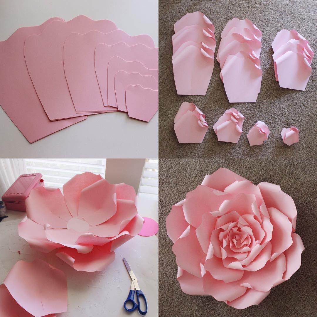 ? как сделать цветок из бумаги своими руками | схемы и шаблоны для изготовления бумажных цветов