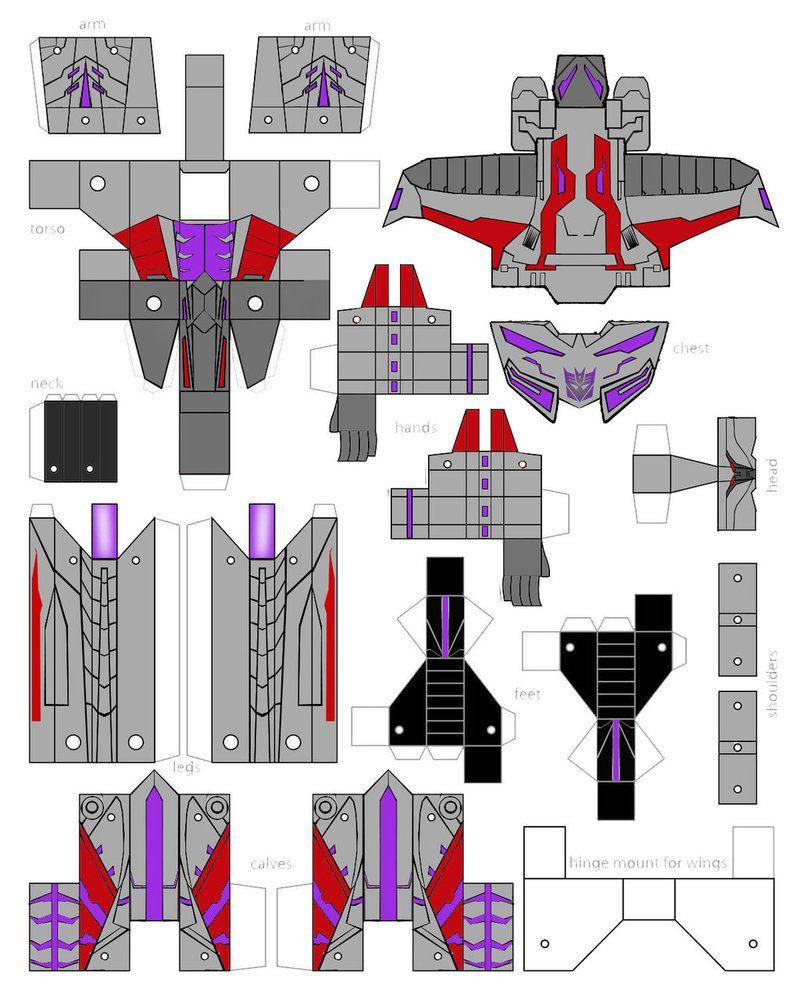 Как сделать из бумаги трансформера оригами: поделки, игрушек роботов трансформеров своими руками - схемы сборки трансформирующихся роботов