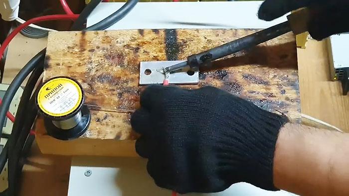 Флюс для пайки алюминия своими руками - сварка, пайка, металлообработка