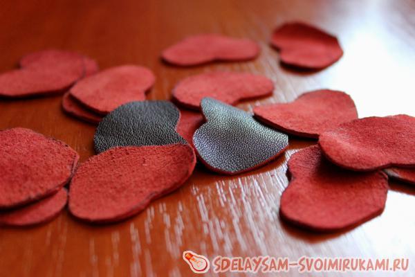 Резинка - цветок из кожи и меха. резинка для волос с мехом норки: мастер класс резинки и заколки из меха
