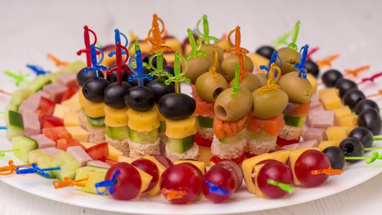 Красивая нарезка овощей на праздничный стол: лучшие фото и мастер-классы