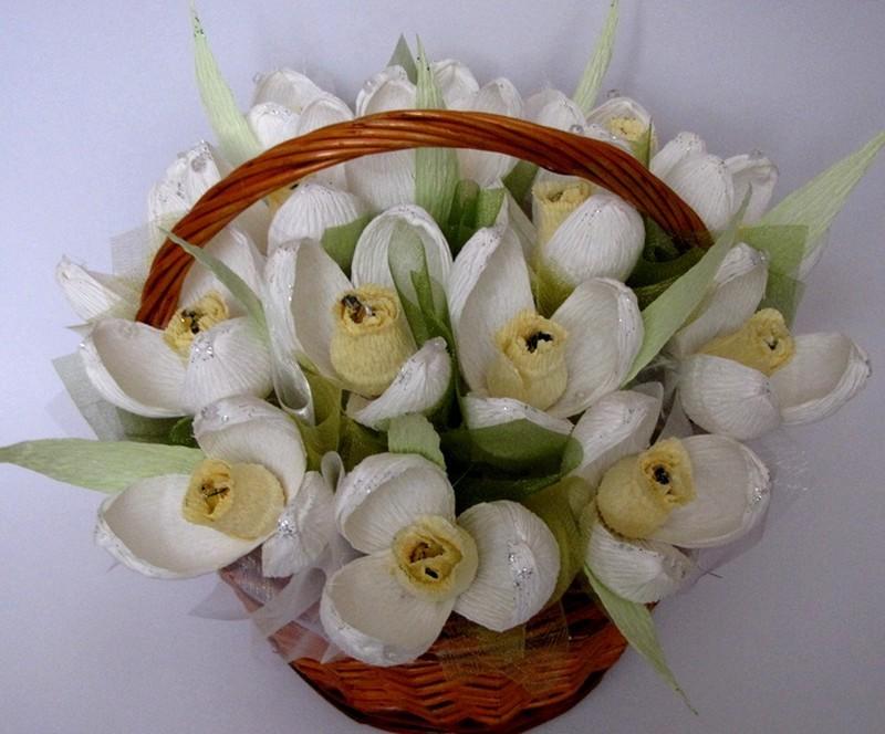 Букеты из конфет своими руками — цветы букеты