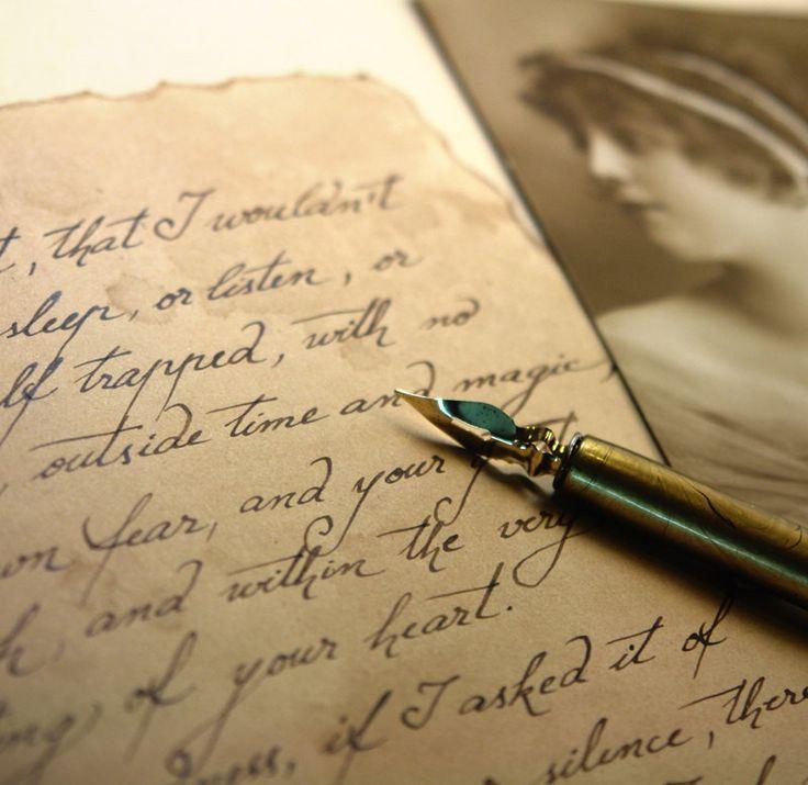 Как красиво украсить письмо подруге. письмо в старинном стиле