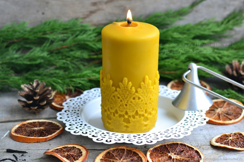 Рождественские свечи | страна мастеров