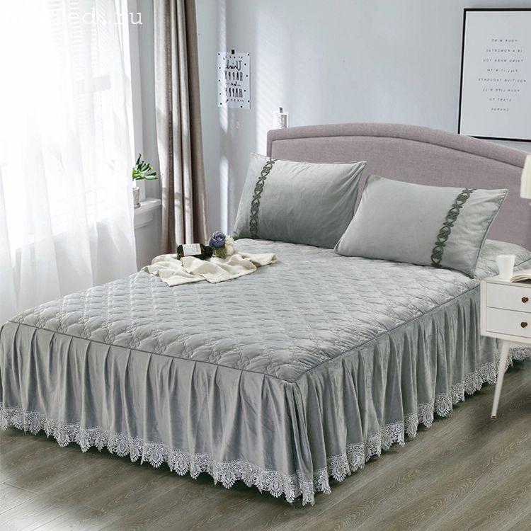 Покрывало на кровать в спальню, какие модные и как правильно подобрать