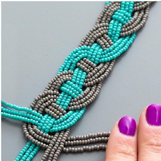 Браслет из бисера своими руками: схемы плетения, фото, видео, идеи