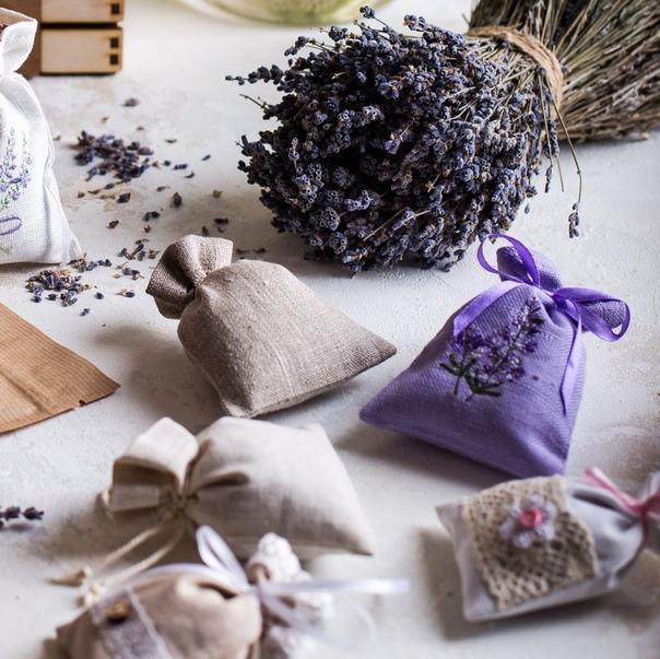 Ароматические саше - как использовать для домашней ароматерапии