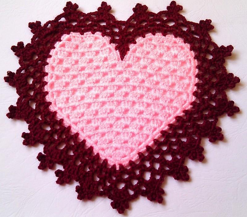 Подборка схем и узоров для вязания спицами ковриков для дома
