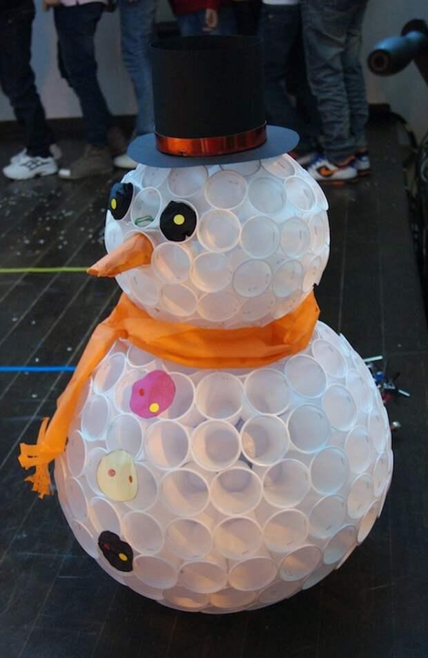 Снеговика из ваты сделаем сами - сделай сам - медиаплатформа миртесен