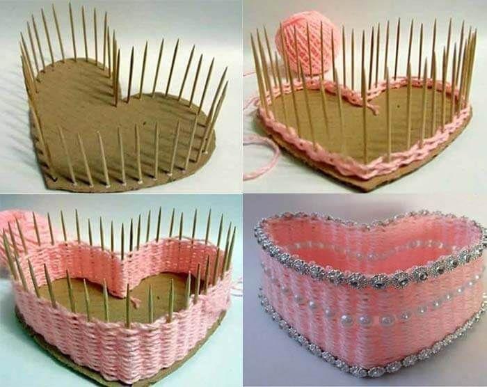 Мастер-класс поделка изделие моделирование конструирование шитьё игольница-стульчик картон материал бросовый ткань