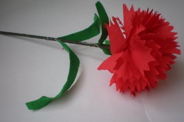 Гвоздики из бумаги своими руками: мастер-класс пошагово, легкие для детей, схемы и шаблоны бумажной гвоздики