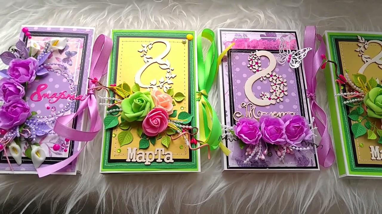 Шоколадницы и магнитки к 8 марта | страна мастеров