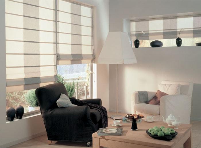 Римские шторы - 170 фото новинок красивых римских штор на пластиковые окна