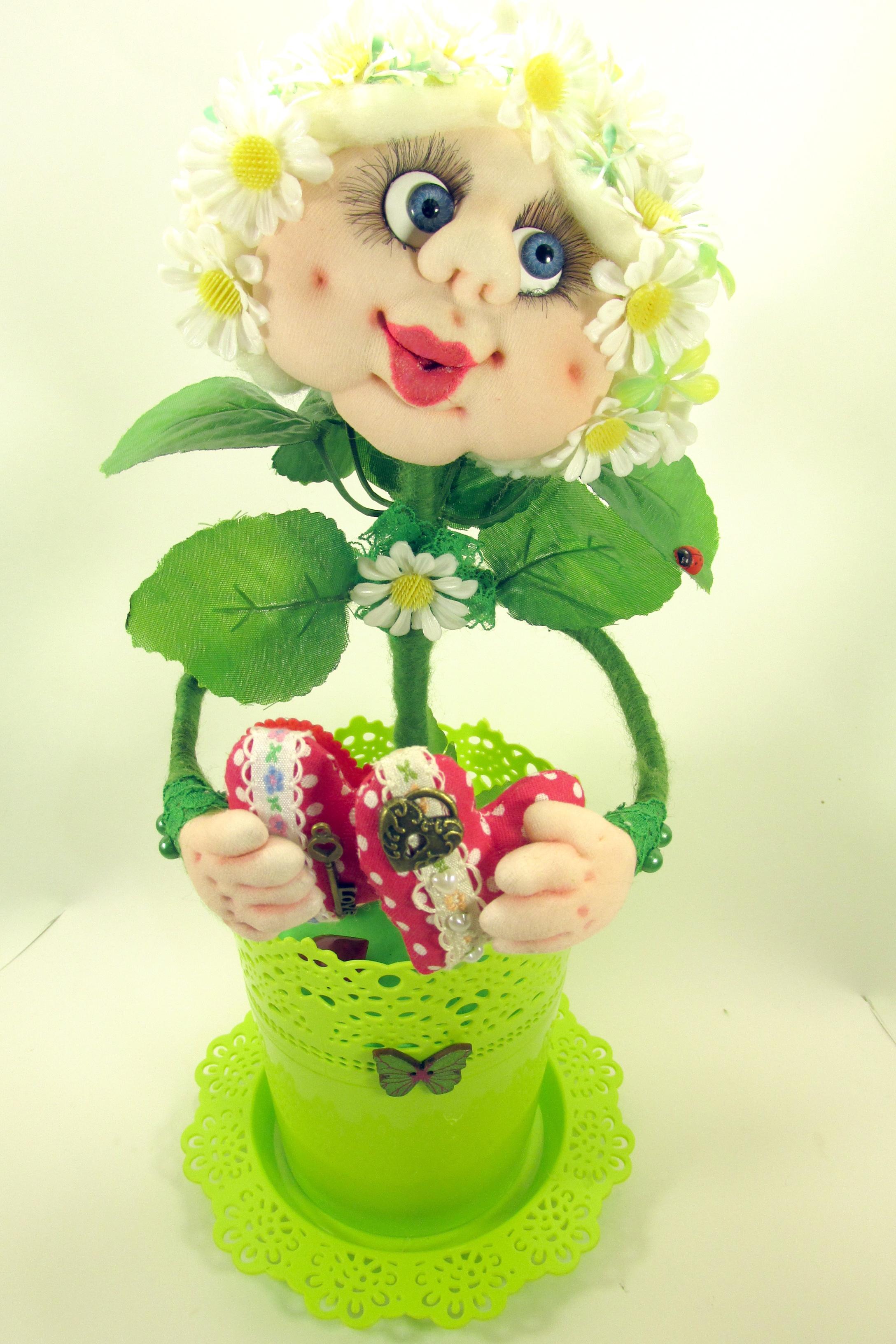 Цветок в чулочной технике, мастер - класс с фото, пошагово