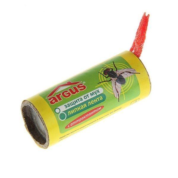 Лента липкая от мух - где купить и как ее использовать?
