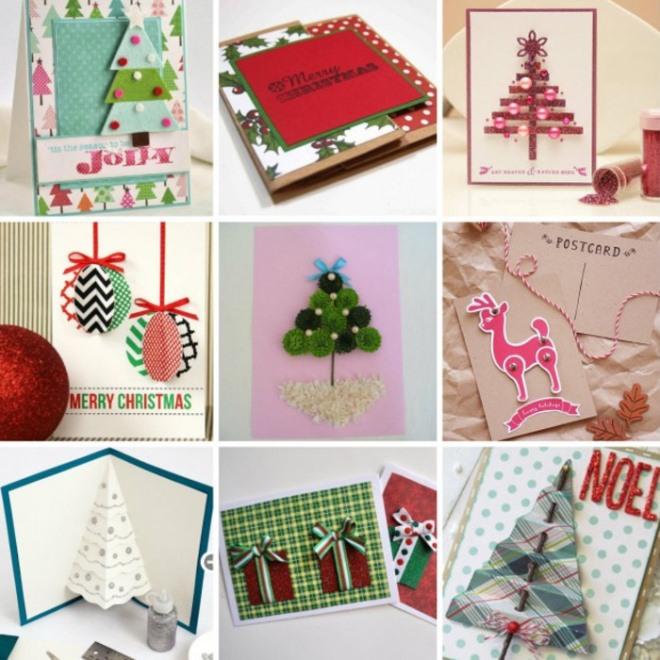 ? трогательное поздравление родным: делаем открытки ручной работы к новому году