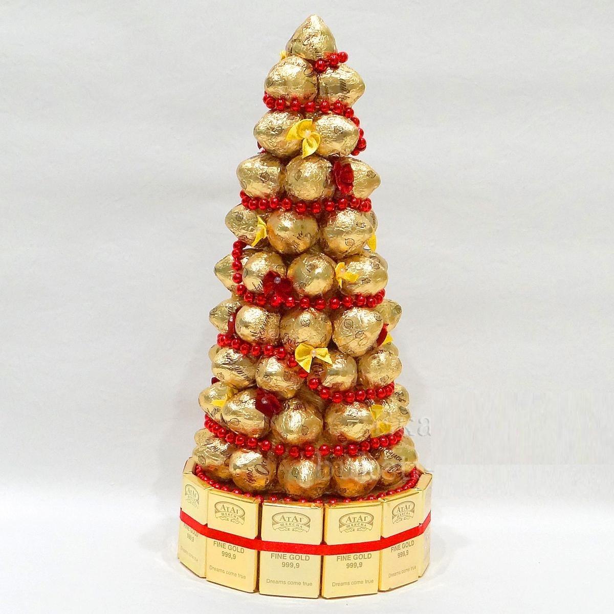 ? поделки из конфет на новый год своими руками: крутые идеи и инструкции