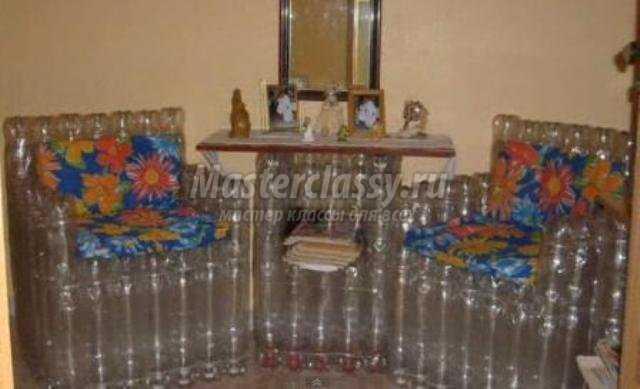 Стул из бутылок пластиковых – стул из пластиковых бутылок своими руками: извлекаем пользу из мусора