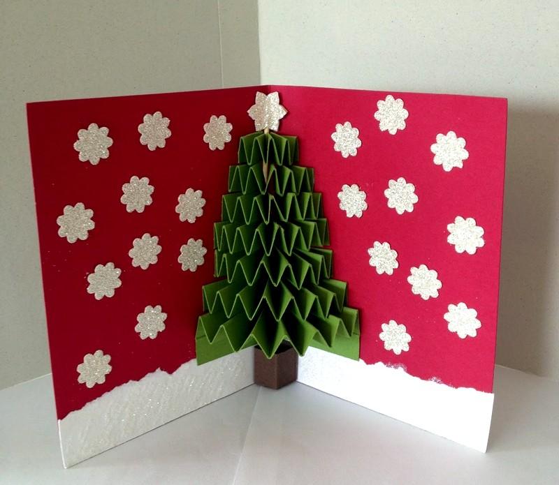 Новогодние открытки своими руками. мастер-классы с пошаговыми фото