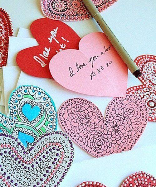 Сердечки из ткани своими руками: валентинки для второй половинки!