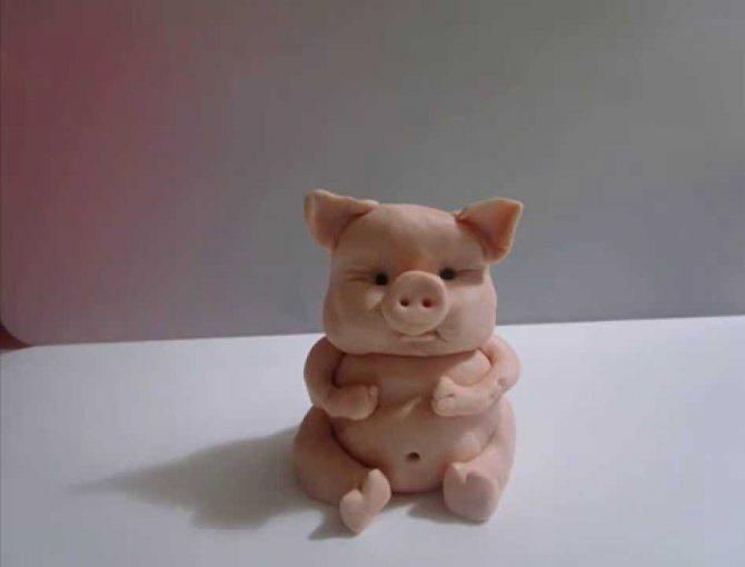 Свинья — символ года 2019 своими руками: мастер-класс, пошаговые схемы, фото