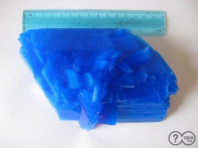Для чего выращивают кристаллы из медного купороса