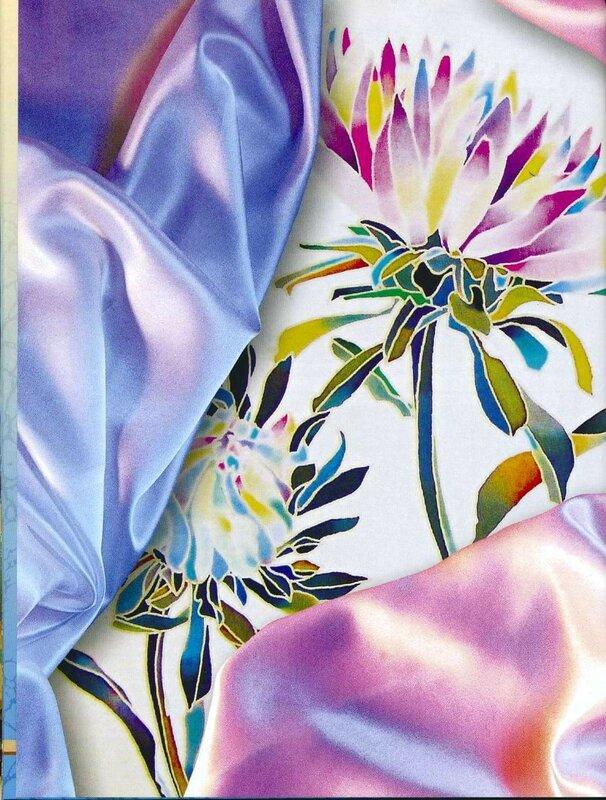 Холодный батик — художественная роспись ткани | megapoisk.com