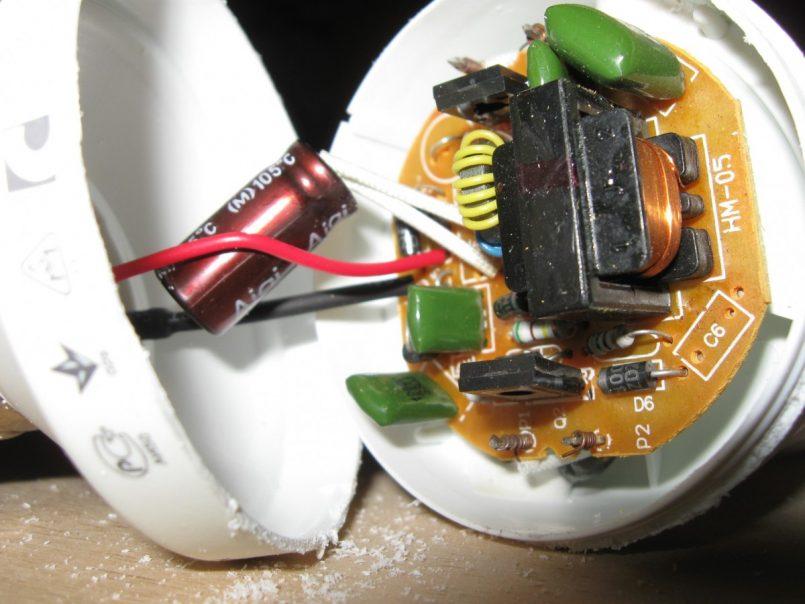 Блок питания из энергосберегающей лампы своими руками: схема и инструкция сборки