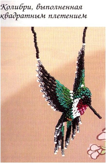 Как сделать птичку колибри