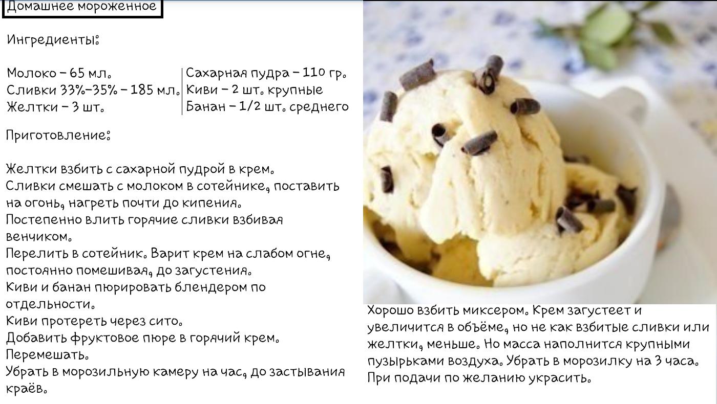 Мороженое в домашних условиях – 10 простых рецептов