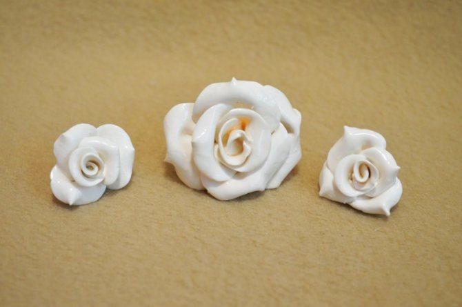 Цветы из полимерной глины (120 фото): инструкция, шаблоны, схемы изготовления, мастер-класс, секреты мастериц