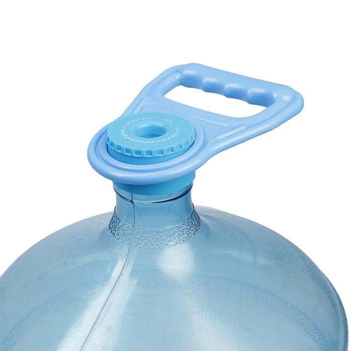Самодельная ручка для пластиковой бутылки из верёвки