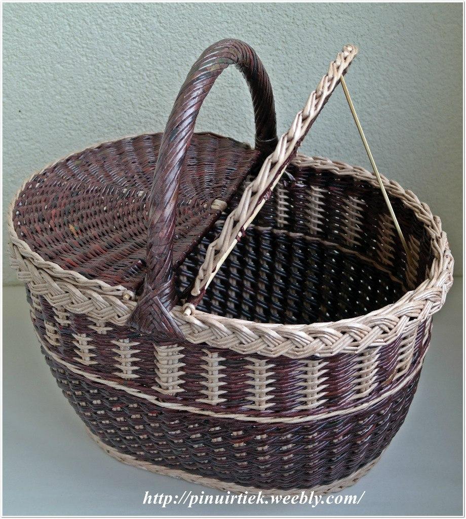 Корзина для белья своими руками: как сделать красивую и объемную корзину в ванную комнату (105 фото)