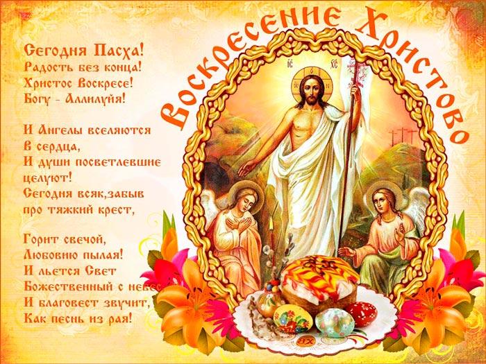 Поздравления с Христовым Воскресеньем