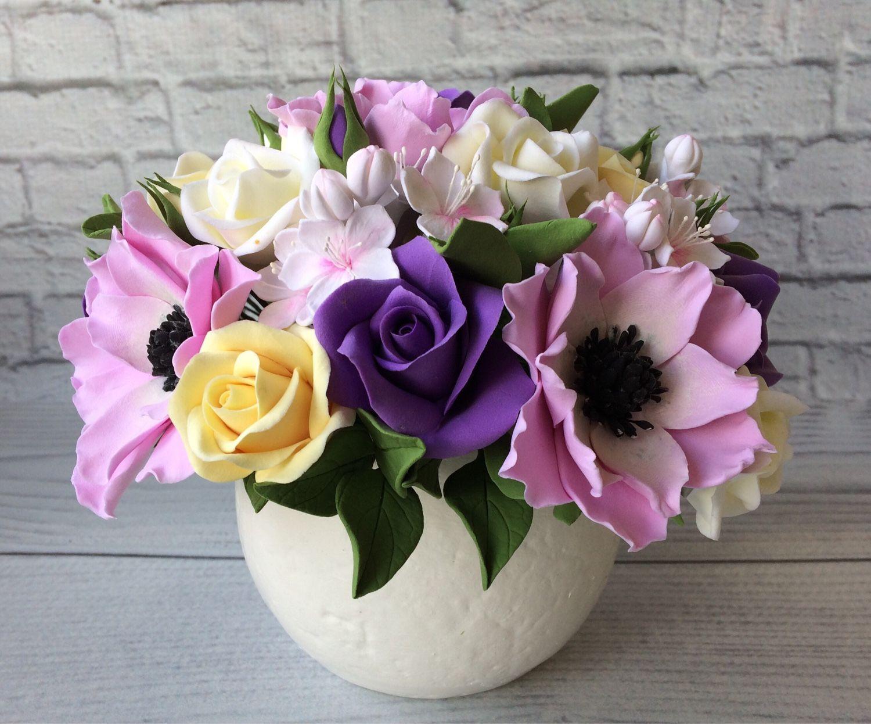 Цветы из холодного фарфора: мастер-класс с фото и видео