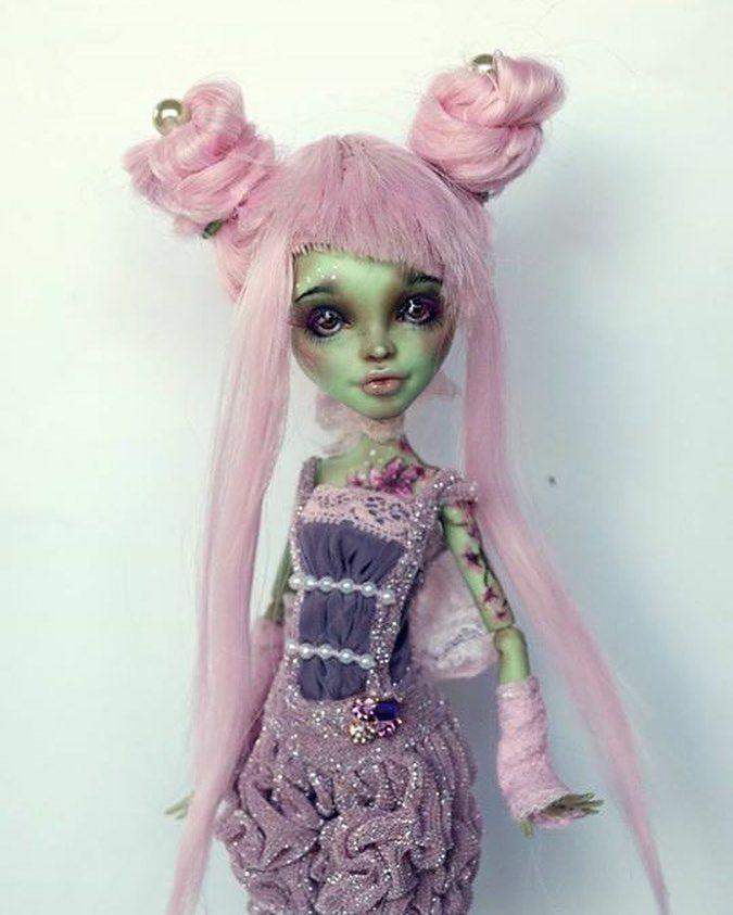 Мастер-класс: как сделать ооак куклы монстер хай или барби