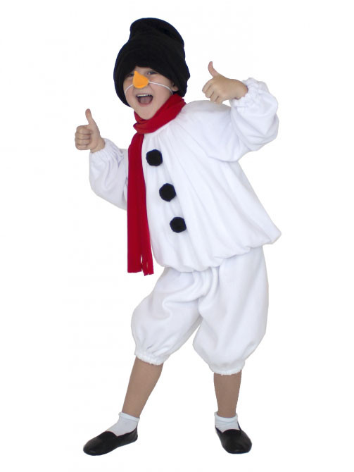 Снеговик в рубашке