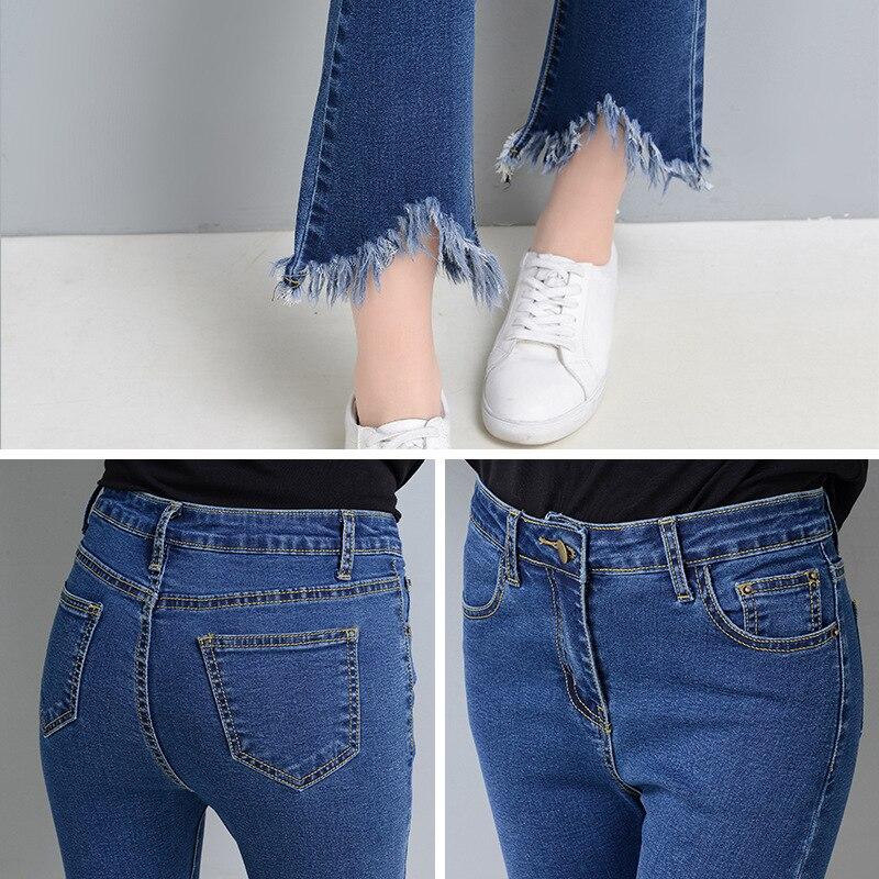 Как обрезать джинсы красиво и модно
