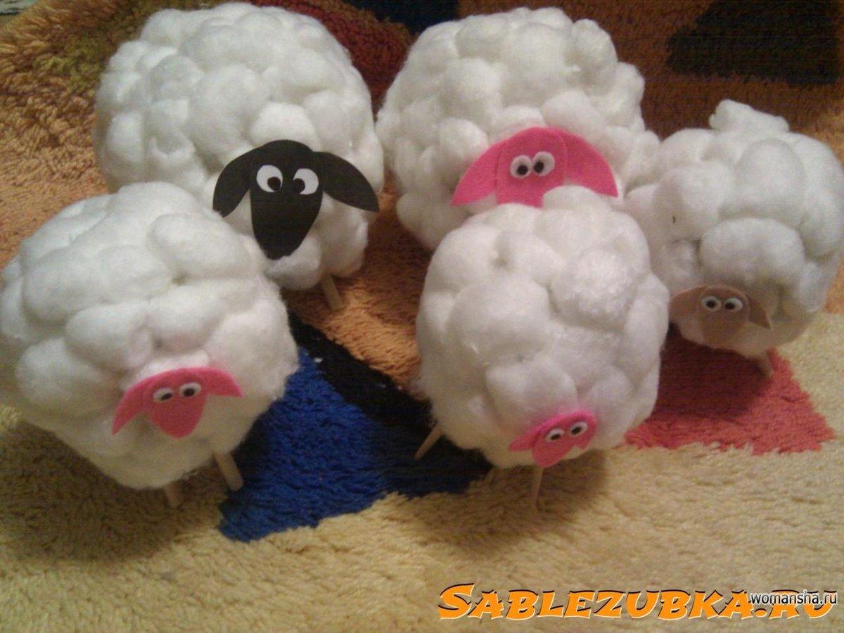 Овечка из фетра. овечка из фетра своими руками: мастер-классы по изготовлению брелока, елочной игрушки и подушки в виде овечки