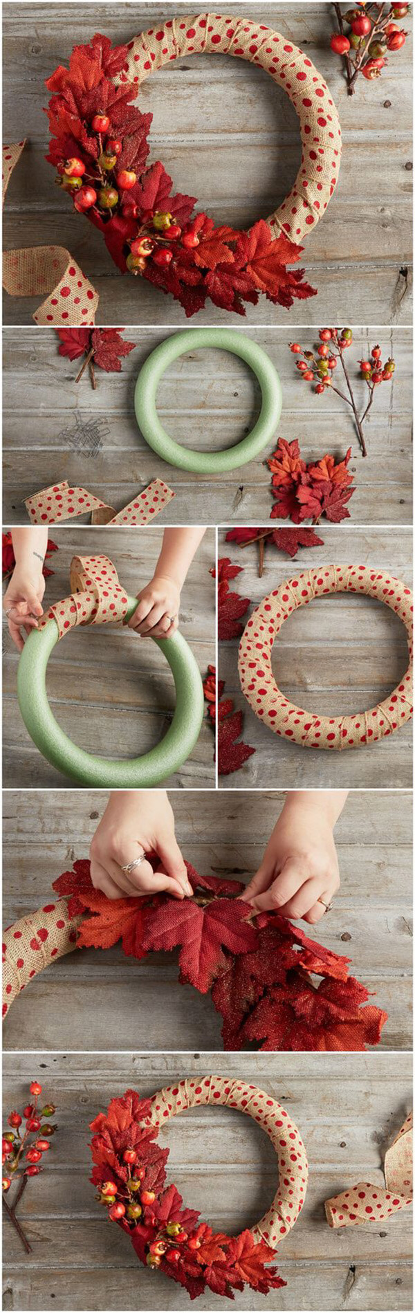 Венок на голову своими руками. как сделать осенний венок из листьев, рябины, цветов своими руками?