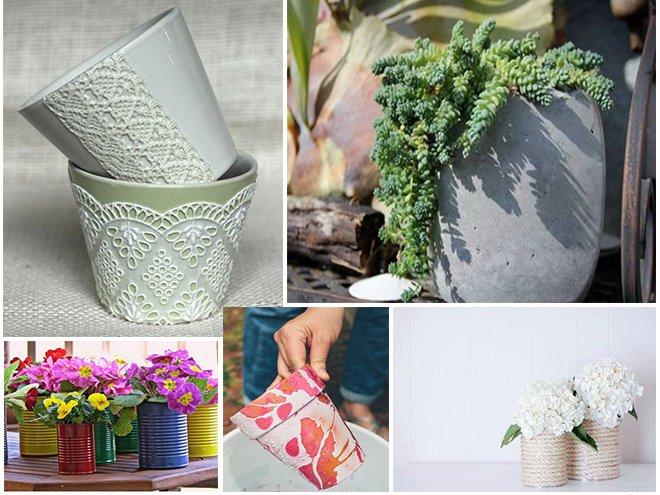 Декор цветочных горшков своими руками (39 фото): как украсить горшки для цветов с помощью подручных материалов? декорирование горшков в домашних условиях