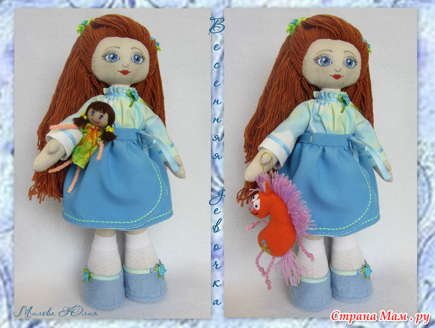 Кукла большеножка мастер-класс