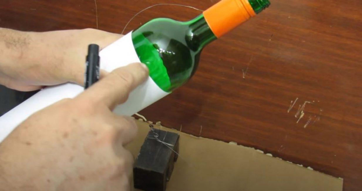 Как разрезать бутылку: мастер-класс разрезки в домашних условиях (90 фото)